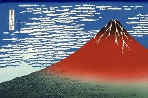Katsushika Hokusai - South Wind at Clear Dawn (Gaifu kaisei)